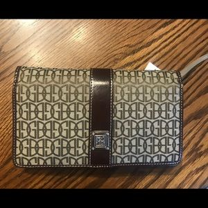 Giani Bernini wallet, NWT, Tan